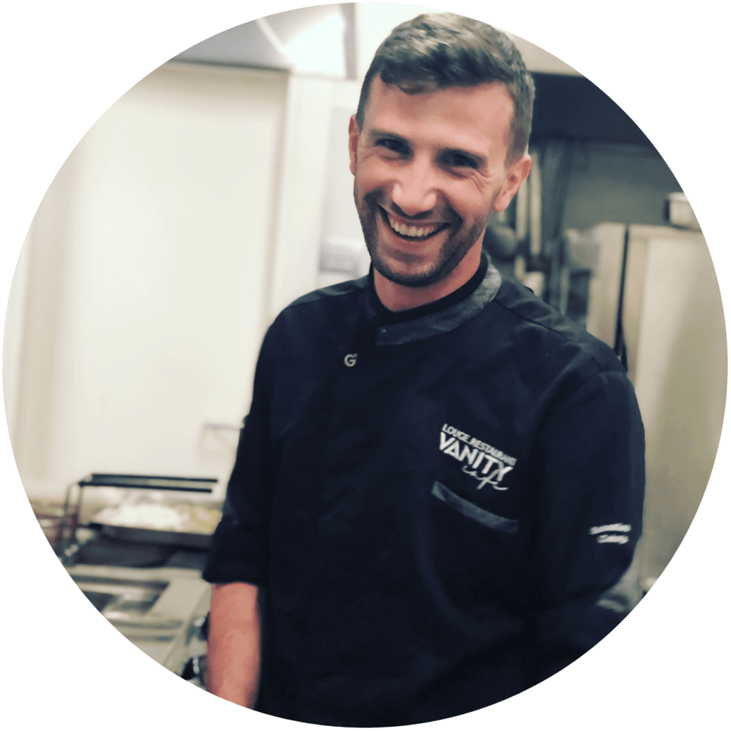 Sebastiano Cekorja Chef Ristorante Vanity